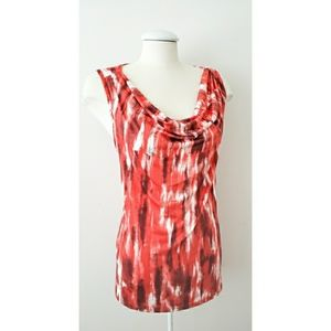 +Size NWT! Multicoloured Sleeveless Top